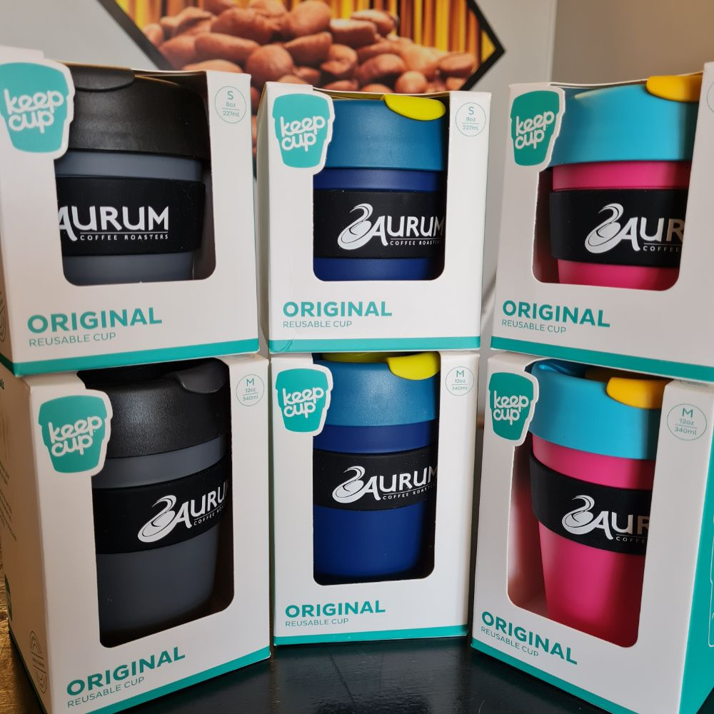 Aurum Coffee Keep Cups